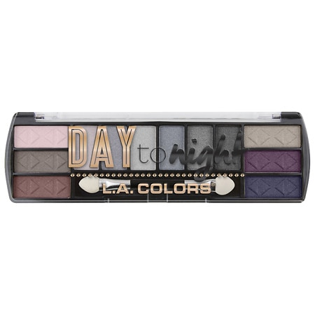 L.A. Colors Day To Night Eyeshadow - 0.28 oz.