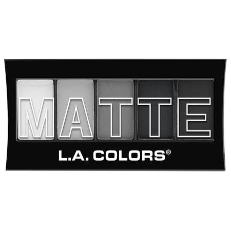 L.A. Colors 5 - color Matte Eyeshadow - 0.08 oz.