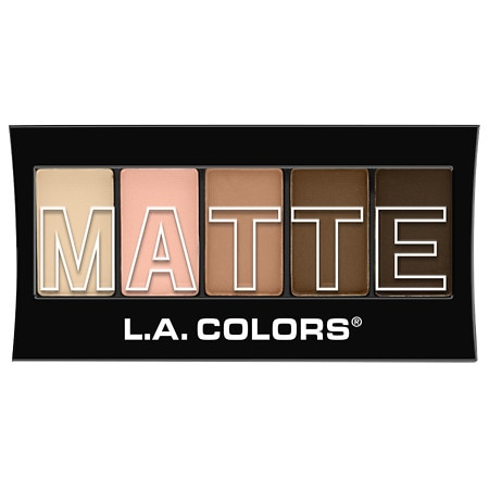 L.A. Colors 5 - color Matte Eyeshadow - 0.08 oz.