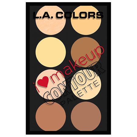 L.A. Colors I Heart Makeup Contour - 4.16 oz.