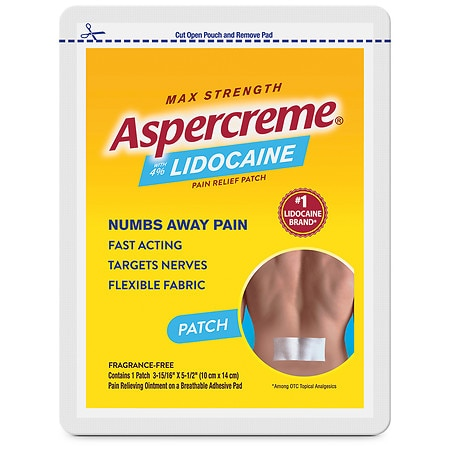 Aspercreme Lidocaine Patch - 1 ea