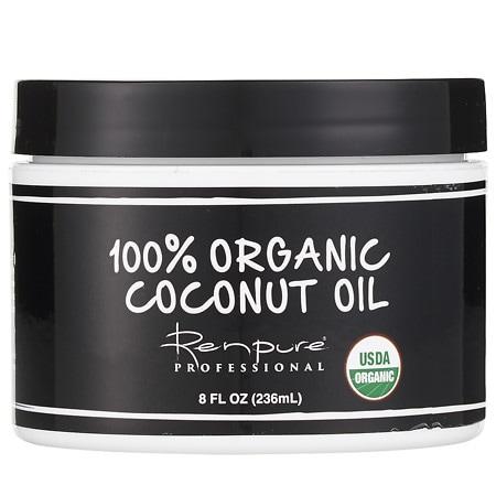 Renpure Black Label 100% Organic Coconut Oil - 8 oz.