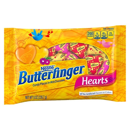 Butterfinger Candy Hearts - 8 oz.
