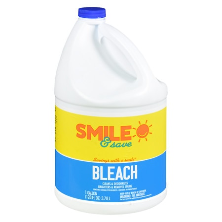 Smile & Save Bleach - 128 oz.