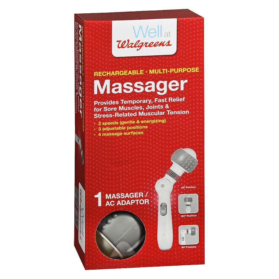 Back Body Massagers Walgreens An Electrical Shaver Point How To Fit A Shaving Socket Diy Doctor Rechargeable Multi Purpose Massager