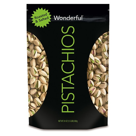 Wonderful In Shell Pistachios Roasted & Salted - 24 oz.