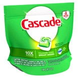 Cascade Dishwasher Detergent Action Pacs Fresh Scent