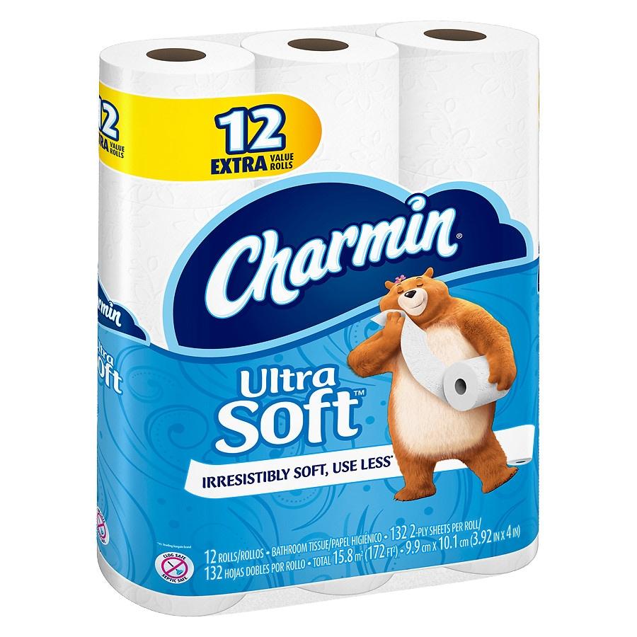 Charmin Bath Tissue Value Rolls Soft