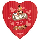 Turtles Large Heart Box Original Pecan