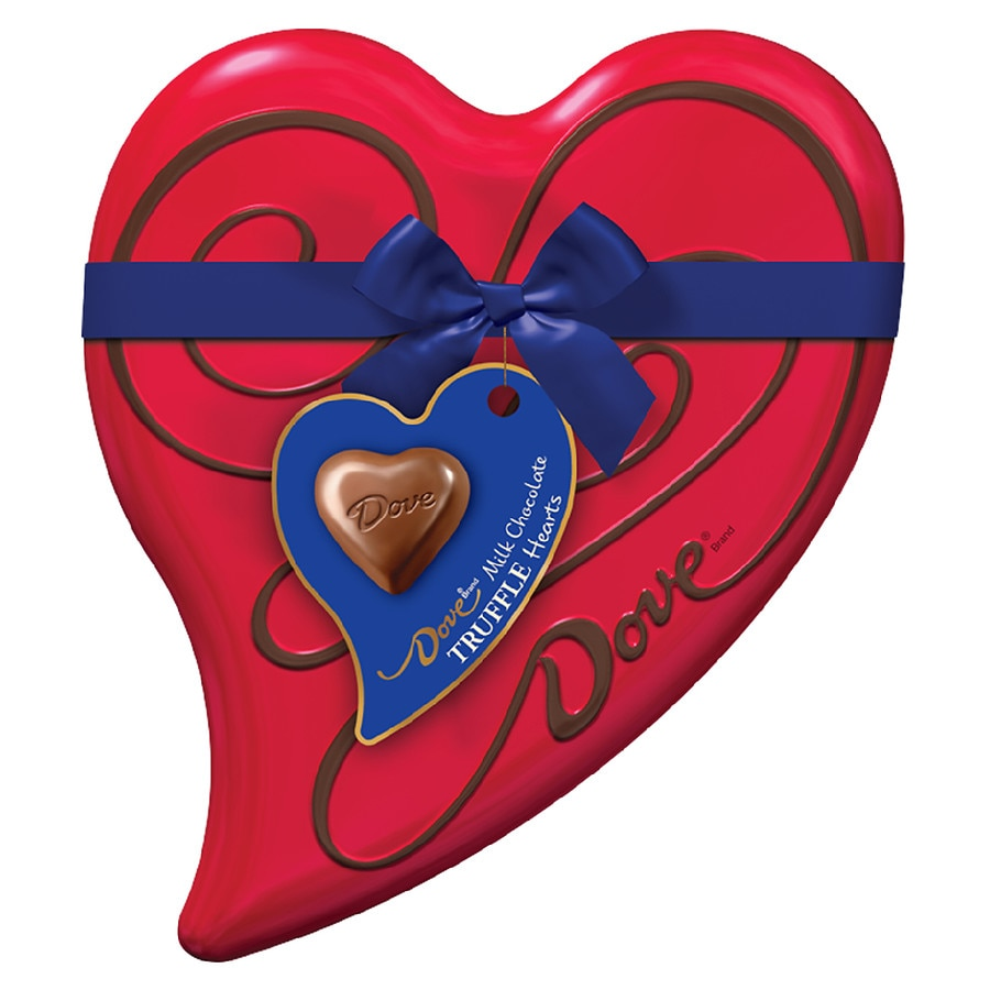 Dove Chocolate Valentine S Day Candy Gift Tin Heart Walgreens
