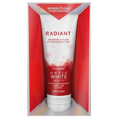 Colgate Optic White Radiant Toothpaste White 3 Oz.