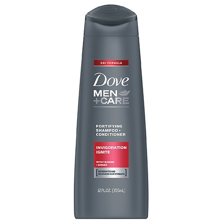 Image of Dove Shampoo and Conditioner Invigoration Ignite - 12 oz.
