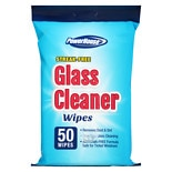 Power House Glass Cleaner Wipes
