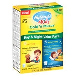 Hyland's 4 Kids Cold N Mucus Day/ Night Combo Pack