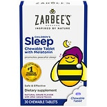 ZarBee's Naturals Children's Sleep Aid Chewable Tabs Grape