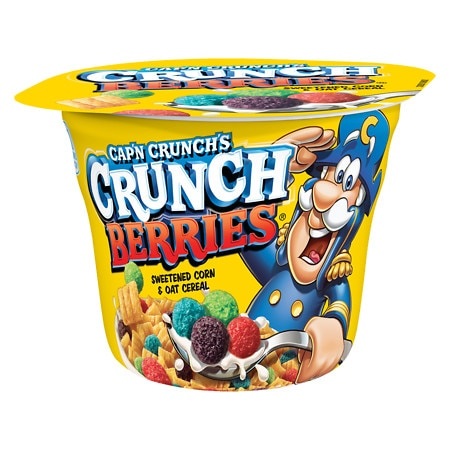 Cap'n Crunch Crunch Berries Cereal Cup - 1.3 oz.