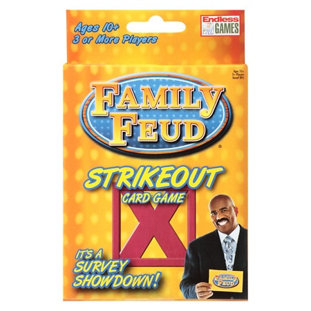 Family Feud Strike Out Card Game - 1 ea