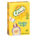 Crush To Go Powdered Drink Mix Pineapple