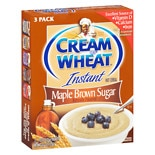 Cream of Wheat Hot Cereal Maple Brown Sugar