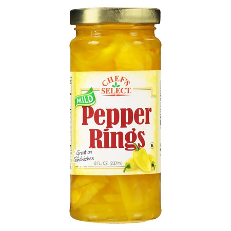 Chef Select Banana Peppers Mild - 8 oz.