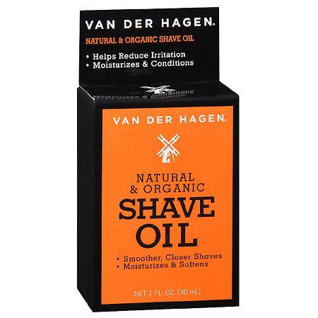 Van Der Hagen Shave Oil Unscented - 1 oz.