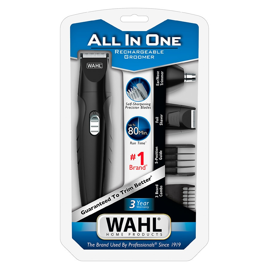 Wahl Clipper All In One Rechargeable Trimmer 9685 2001.0 Ea by Home.Wahl.Com