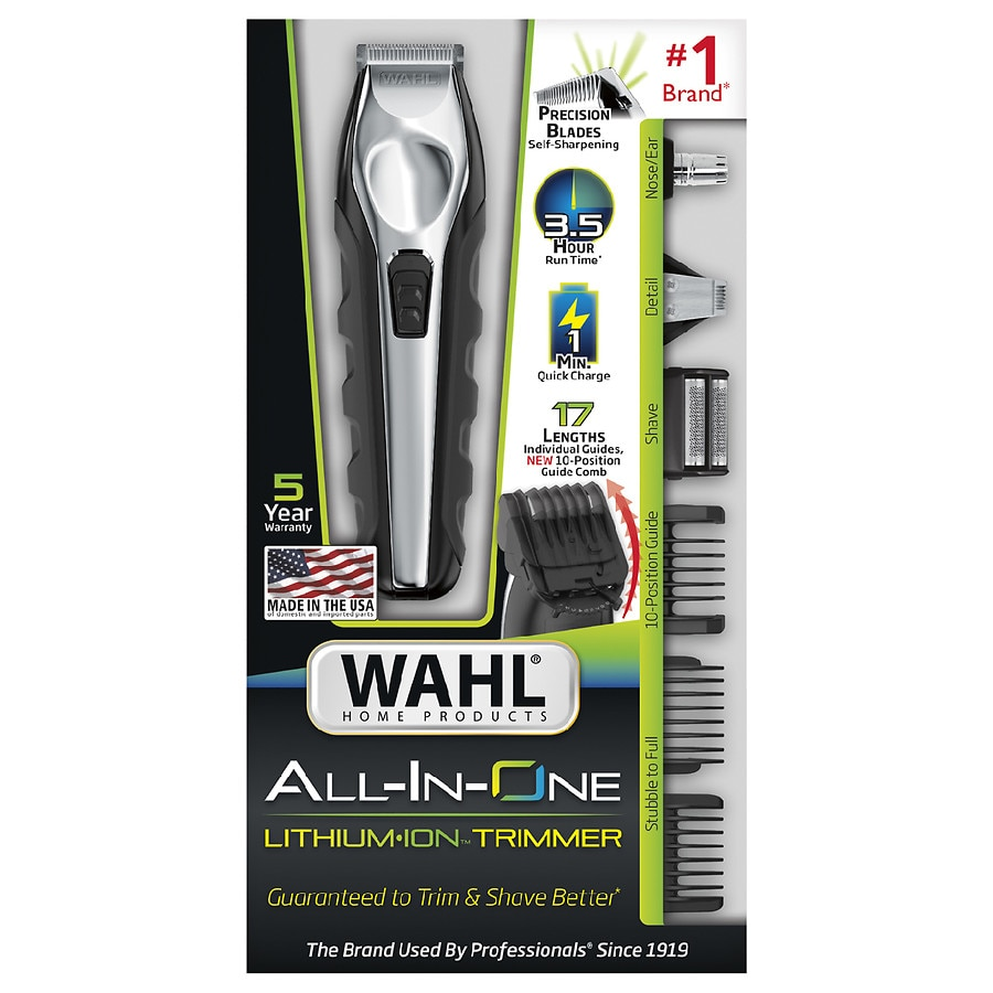 Wahl Clipper Lithium Ion Multi Groomer 9688 600 Walgreens Classic Series 1 Usa Product Large Image