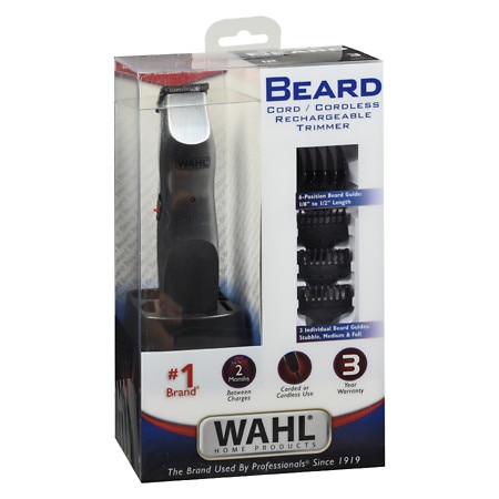 wahl clipper cordless beard trimmer 9918 1701 walgreens. Black Bedroom Furniture Sets. Home Design Ideas