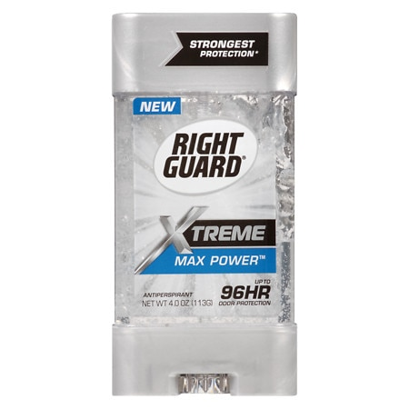 Right Guard Xtreme Antiperspirant Gel Max Power - 4 oz.