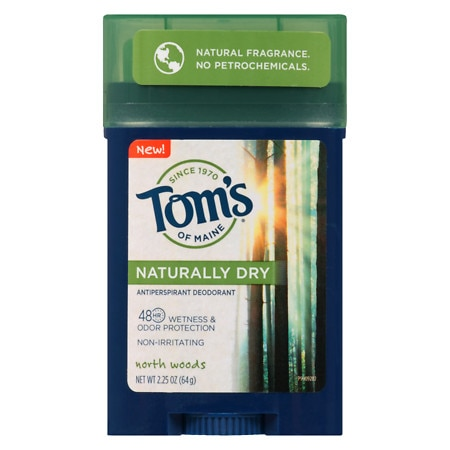 Tom's of Maine Naturally Dry Men's Antiperspirant North Woods - 2.25 oz.