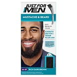 Just For Men Brush-In Color Gel For Mustache & Beard Dark Brown