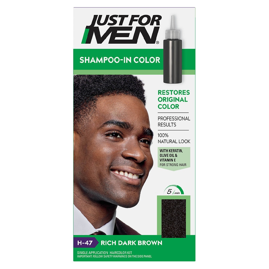 Just For Men Shampoo In Haircolordark Brown Walgreens