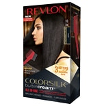 Revlon ColorSilk Buttercream Permanent Hair Color Black