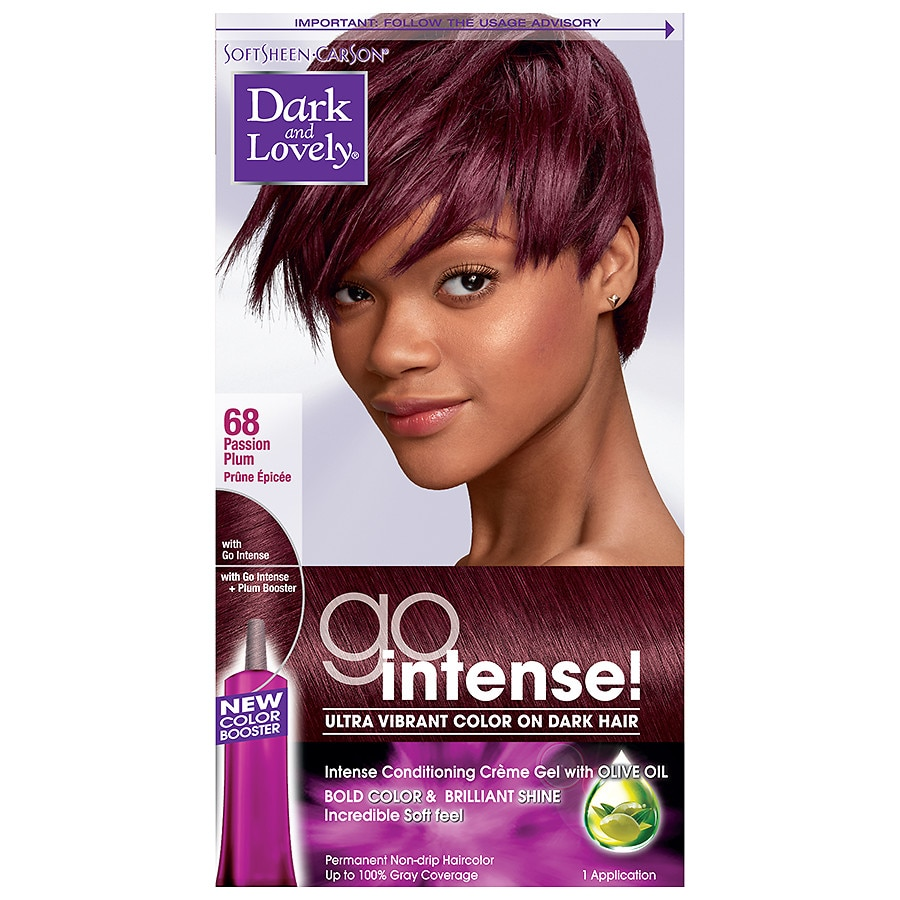 SoftSheen-Carson Dark and Lovely Hair Color,Passion Plum | Walgreens