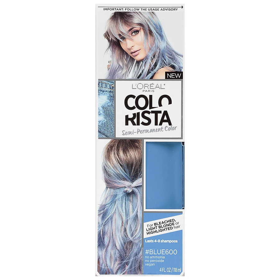 Blue Hair Dye Walgreens