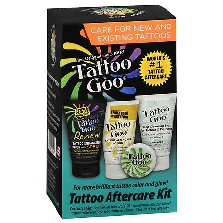 the original tattoo goo tattoo aftercare kit walgreens