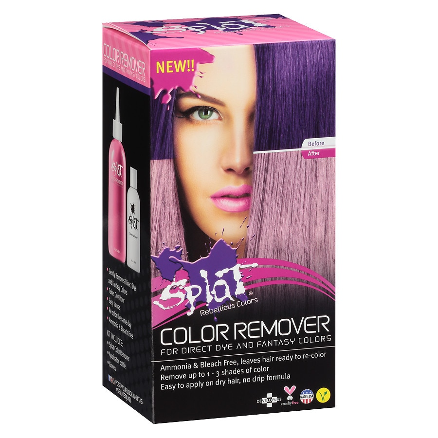 Splat Hair Color Remover Walgreens