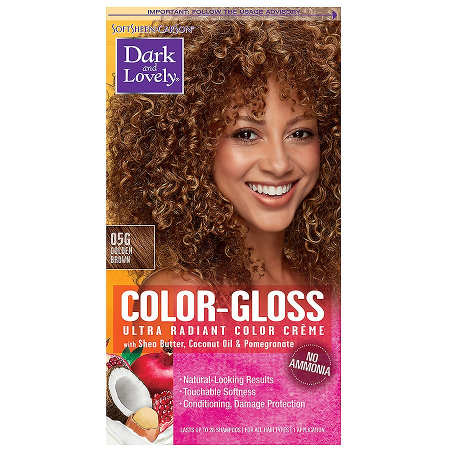 SoftSheen-Carson Dark and Lovely Color-Gloss Ultra Radiant Color Creme,  Golden Brown