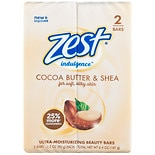 Zest Bar Soap Creamy Cocoa Butter & Shea