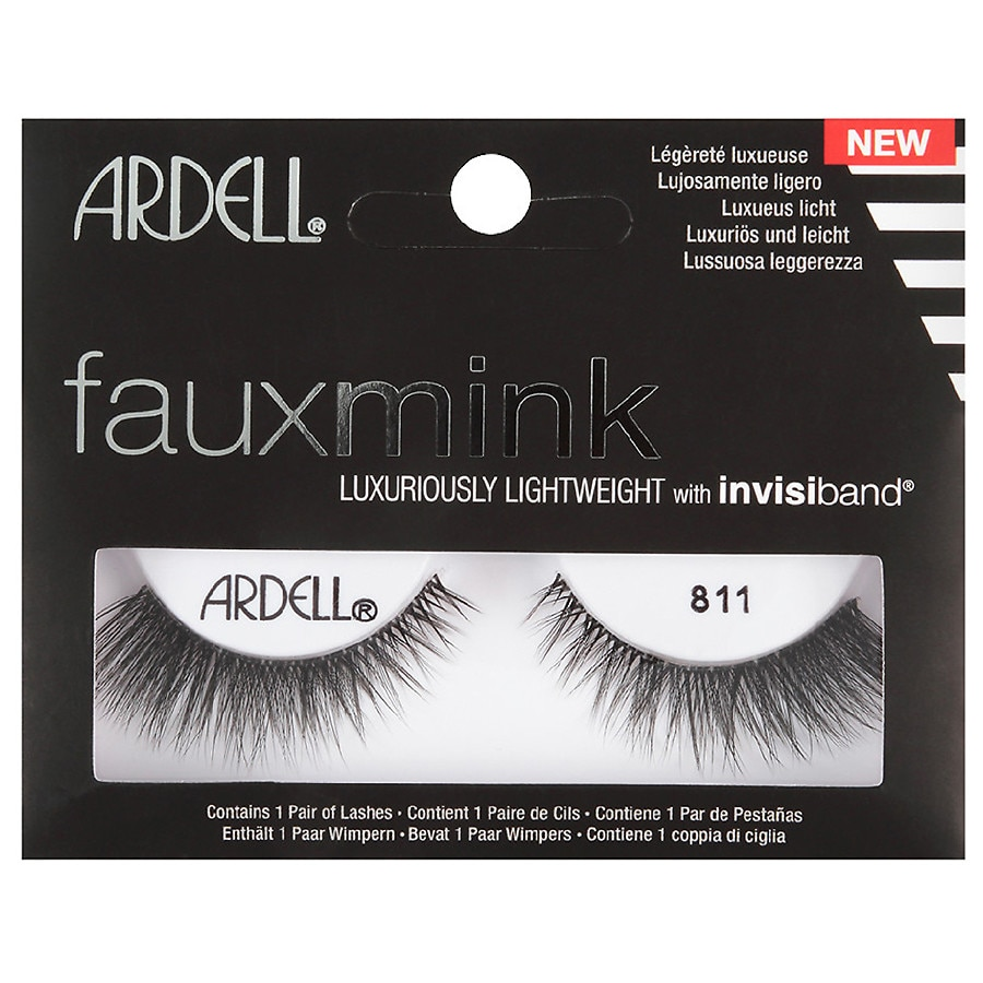7d744ac939b Ardell Faux Mink Lashes #11 Black | Walgreens
