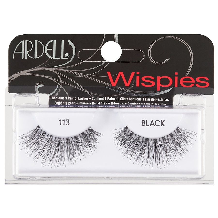 2e7b2080da8 Ardell Wispies Lashes 113, Black | Walgreens