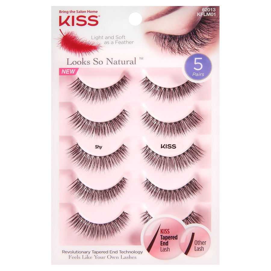 2c1d3cb1a9f Kiss Looks So Natural Lashes, Shy | Walgreens