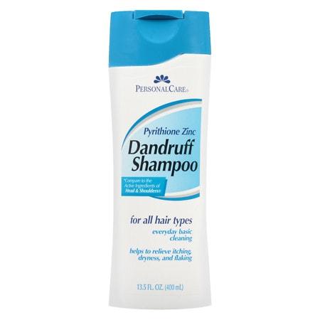 Personal Care 1% Pyrithione Zinc Dandruff Shampoo - 14 fl oz