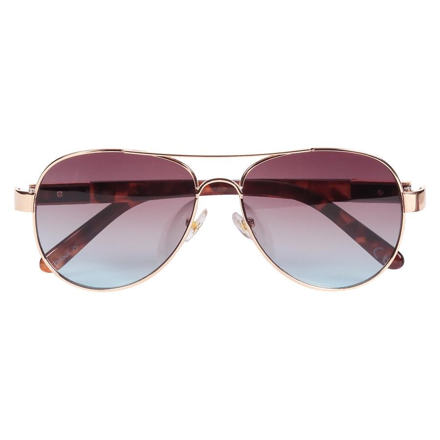 13ecc9fe497 Foster Grant Revlon Sunglasses Gold
