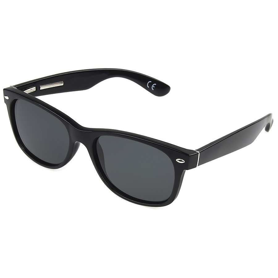 cc26668141df Foster Grant Polarized Sunglasses Hugo Black | Walgreens