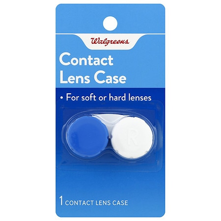 Walgreens Twist Top Contact Lens Case - 1.0 ea