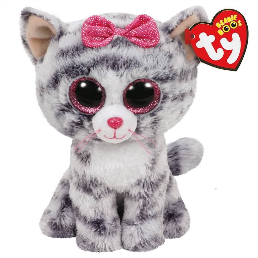 bac1e9fc6e1 Ty Beanie Boos Kiki Cat Plush Toy
