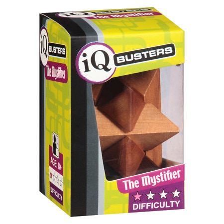 Outset Media IQ Buster Wooden Puzzles - 1 ea