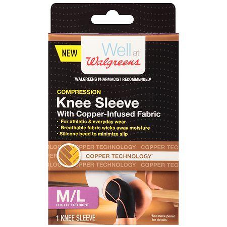 Walgreens Knee Sleeve Size Medium/Large - 1 ea