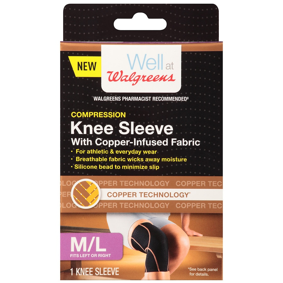Walgreens Knee Sleeve Size Medium Large Walgreens
